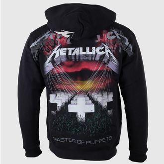 hoodie muški Metallica - Majstor od Lutke - Crno - LIVE NATION - RTMTL03404