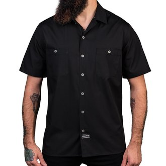 Muška košulja WORNSTAR - Adamant - Black, WORNSTAR