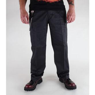 hlače muške BRANDIT - Sjedinjene Države Forestr Crijevo Crno, BRANDIT
