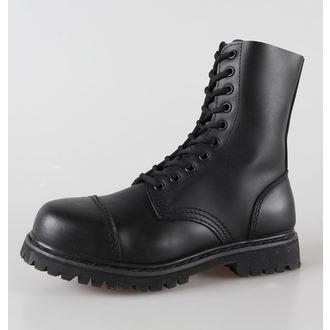 cipele koža 10 pinhole BRANDIT - Phantom Crno