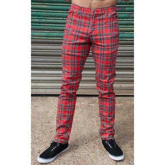 hlače (unisex) 3RDAND56th - Tartan Mršav Denimice - Ud Tartan - JM1106