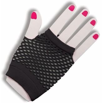rukavice (rukav) LEGWEAR - Kratak Riblja mreža - Crno, LEGWEAR