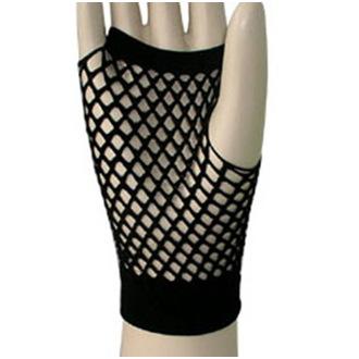 rukavice (rukav) LEGWEAR - Kratak Riblja mreža - Crno - SAGSFN1BL1