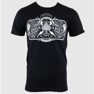 Majica muška Namazati BRAND - Loše Star - Logo - Crno, LIQUOR BRAND