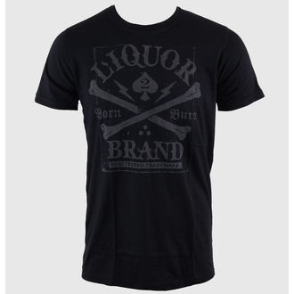 Majica muška Namazati BRAND - Prekrižene - Crno, LIQUOR BRAND