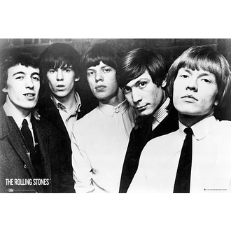 plakat The Rolling Stones - Group, NNM, Rolling Stones