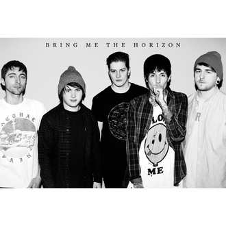 plakat Bring Me The Horizon - Black & W, GB posters, Bring Me The Horizon