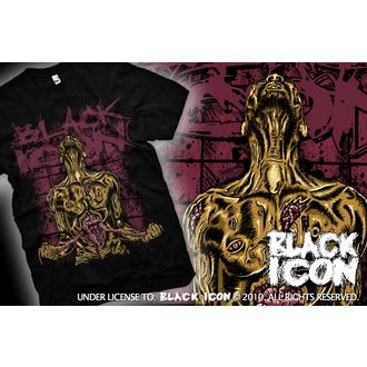Majica muška Crno IKONA - Samoubistvo - Crno, BLACK ICON
