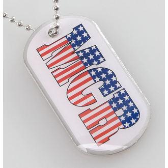 Identifikacijska pločica (dog tag) My Chemical Romance - Americana - RAZAMATAZ, RAZAMATAZ, My Chemical Romance