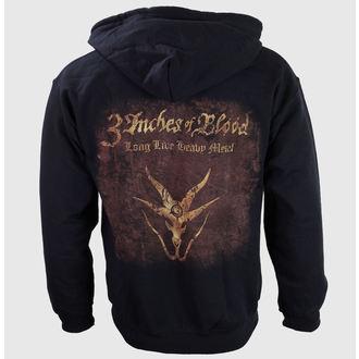 hoodie muški 3 Inches Of Blood - Dug Live Heavy Metal - RAZAMATAZ, RAZAMATAZ, 3 Inches of Blood