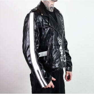 jakna muška (nož na sklapanje) ADERLASS - Rock Jakna Lacrimas Profundere - Crno, ADERLASS