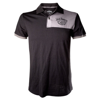 Majica muška polo Jack Daniels - Patch S Logo - Siva, JACK DANIELS