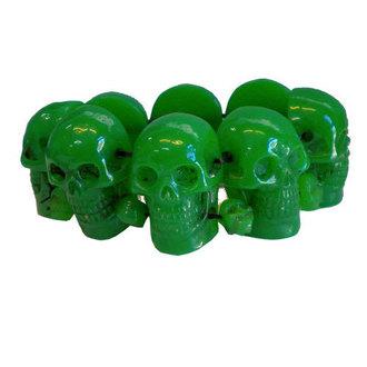 Narukvica KREEPSVILLE SIX SIX SIX - Skull - Zelena, KREEPSVILLE SIX SIX SIX