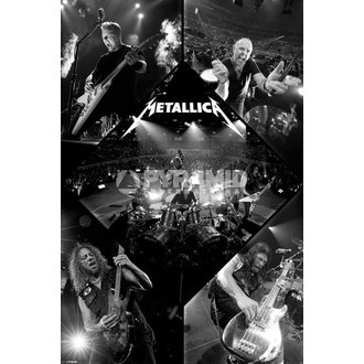 plakat Metallica - Live - PYRAMID POSTERS, PYRAMID POSTERS, Metallica
