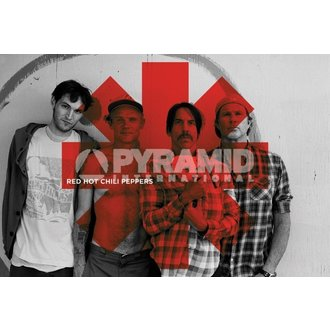 plakat Red Hot Chili Peppers - Crven Asterix - PYRAMID POSTERS, PYRAMID POSTERS, Red Hot Chili Peppers
