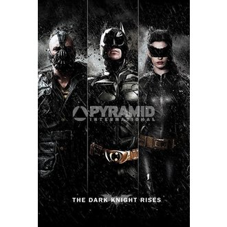 plakat Batman - The Dark Knight Rises - Tri - PYRAMID POSTERS, PYRAMID POSTERS