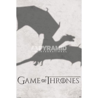 plakat Game oko prijestolje - Sjena - PYRAMID POSTERS, PYRAMID POSTERS