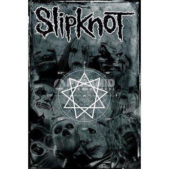 plakat Slipknot- Pentagram - PYRAMID POSTERS, PYRAMID POSTERS, Slipknot