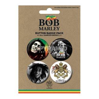 Bedževi Bob Marley - Fotografija - PYRAMID POSTERS, PYRAMID POSTERS, Bob Marley