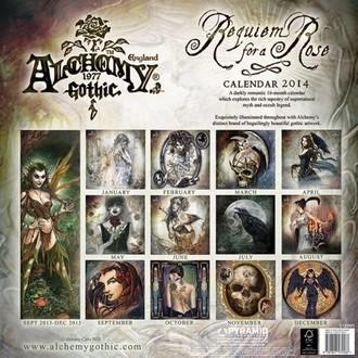 kalendar za godinu 2014 Alchemy - PYRAMID POSTERS, ALCHEMY GOTHIC