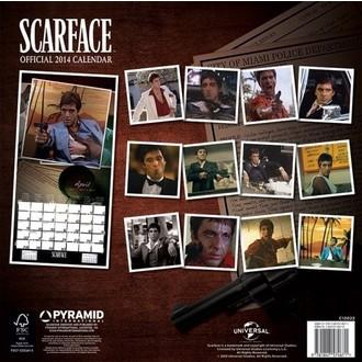 kalendar za godinu 2014 Scarface - PYRAMID POSTERS, PYRAMID POSTERS