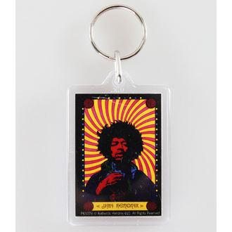 Privjesak za ključeve Jimi Hendrix - Pyschedelic - PYRAMID POSTERS, PYRAMID POSTERS, Jimi Hendrix