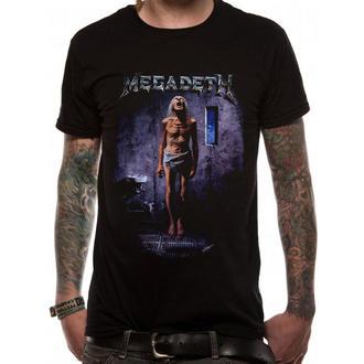 Majica muška Megadeth - Countdown 2 - LIVE NATION, PLASTIC HEAD, Megadeth