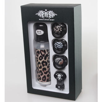 Dječji poklon set ROCK STAR BABY - Leopard, ROCK STAR BABY