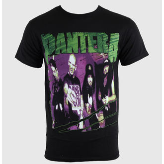Majica muška Pantera - Group Skica - Crno, BRAVADO, Pantera