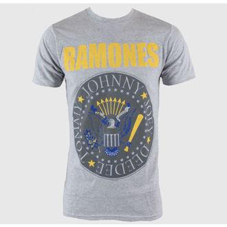 Majica muška Ramones - Y & B Seal - Heather Siva - BRAVADO, BRAVADO, Ramones