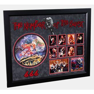 LP s potpis IRON MAIDEN - Number Of The Beast, ANTIQUITIES CALIFORNIA, Iron Maiden