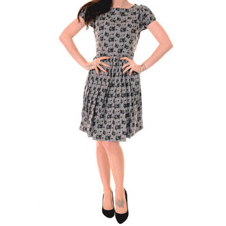 Haljina ženska 3RDAND56th - Naboran Pug - Silver/Grey, 3RDAND56th