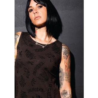 Haljina ženska SANTA CRUZ - Tattoo - Vintage Crno, SANTA CRUZ