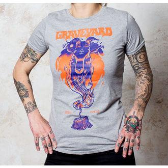 Majica ženska Gravelje - Sotona - Sportovi Siva - Buckaneer, Buckaneer, Graveyard