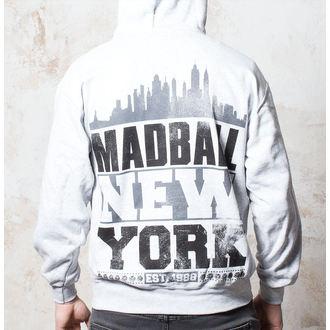 hoodie muški Madball - Skyline  - Heather Grey - Buckaneer - 042