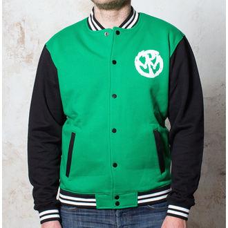 hoodie muški Pennywise - Logo - Zelena / Crna / Bijeli - Buckaneer, Buckaneer, Pennywise