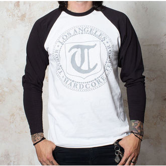 Majica muška dugi rukav Terror - Značka - Bijelo / Crno - Buckaneer, Buckaneer, Terror