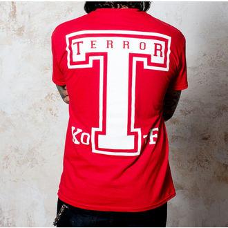 Majica muška Terror - BigT - Crven - Buckaneer, Buckaneer, Terror