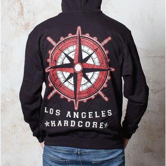 hoodie muški Terror - Kompas - Crno - Buckaneer, Buckaneer, Terror