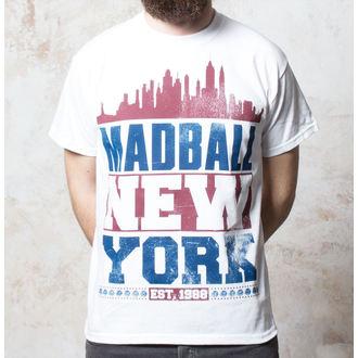 Majica Madball - Skyline  - Bijelo - Buckaneer, Buckaneer, Madball