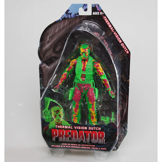 Figurica Predator 2 - Thermal Vizija Dutch, NECA