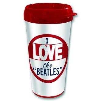 termo Šalica The Beatles - Ja love The Beatles - ROCK OFF