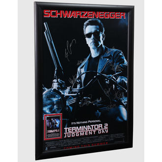 plakat s potpisi Terminator 2, ANTIQUITIES CALIFORNIA