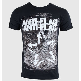 Majica muška Anti-Flag - Puška Star Karta - Crno - KINGS ROAD, KINGS ROAD, Anti-Flag