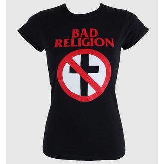 Majica ženska Bad Religion - Cross Buster - Crno - KINGS ROAD, KINGS ROAD, Bad Religion