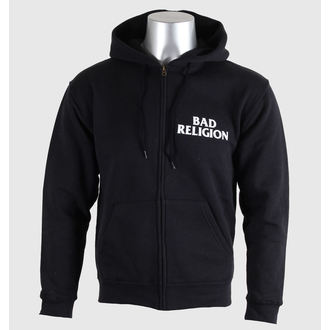 hoodie muški Bad Religion - Cross Buster - Crno - KINGS ROAD, KINGS ROAD, Bad Religion
