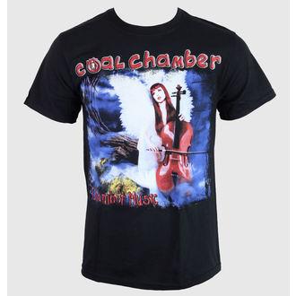Majica muška Ugljen Chamber - Chamber Music - Crno - KINGS ROAD, KINGS ROAD, Coal Chamber