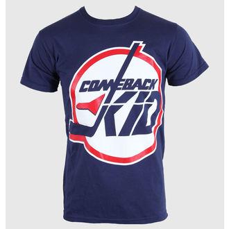 Majica muška Comeback Kid - Jets - Plav NAVY plava- KINGS ROAD, KINGS ROAD, Comeback Kid