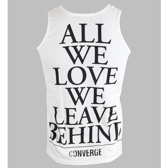 potkošulja muška Converge - All Mi Ljubav - Bijelo - KINGS ROAD, KINGS ROAD, Converge