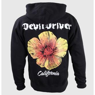 hoodie muški Vrag Vozač - California Poppy - Crno - KINGS ROAD, KINGS ROAD, Devildriver
